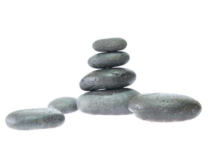 Stone massage. Stock Photo - 10181557