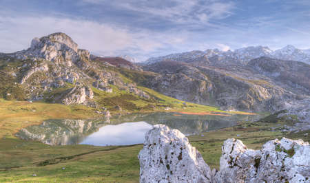 covadonga: Lakes of Covadonga, Asturias, Spain.