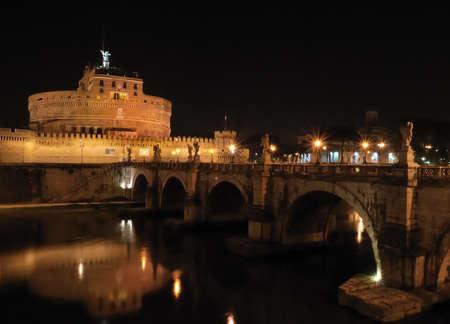 san miguel arcangel: Castillo de San Angelo, Roma, Italia.