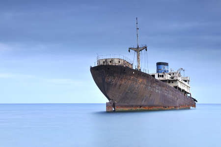 Ghost ship. Stock Photo - 10286678