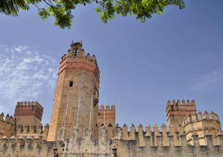 marcos: The Castle of St. Marcos, El Puerto de Santa Maria, Cadiz, Spain.