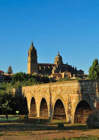 salamanca: Cathedral of Salamanca, Spain. Stock Photo