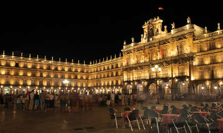 Piazza principale di Salamanca, Spagna.