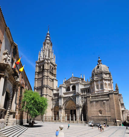 Cattedrale di Toledo, in Spagna. Editoriali