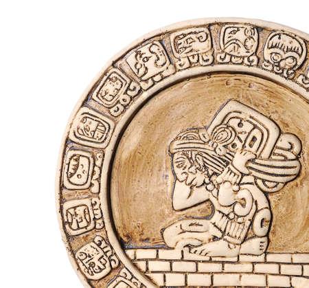 Mayan calendar. photo