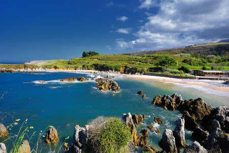 asturias: Llanes, Asturias, Spain. Stock Photo