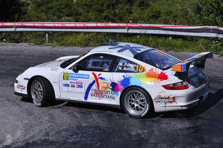 principe: Miguel Fuster de conducci�n en el Rally Pr�ncipe de Asturias 2011. Editorial