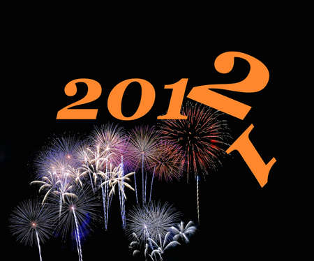 New Year Party 2012. Stock Photo - 11326732