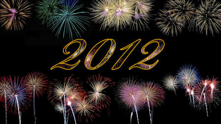 Fireworks 2012. Stock Photo - 11614550