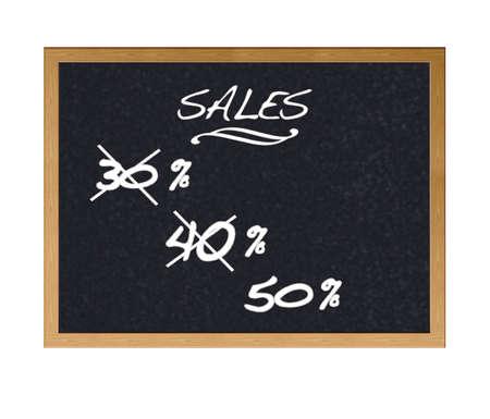 Discounts on sales. photo