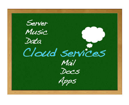 Cloud services. photo