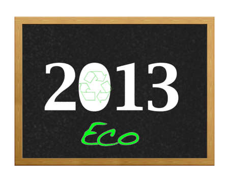Ecological Year 2013. Stock Photo - 12214841