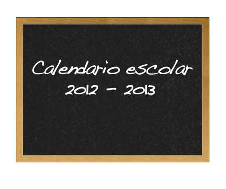 School calender 2012-2013 photo