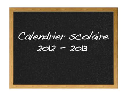 School calender 2012-2013. photo