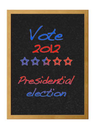 Presidential election 2012. Stock Photo - 12214876
