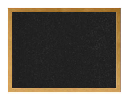 Isolated blackboard. photo