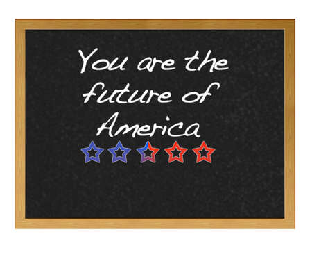 You are the future of america. photo