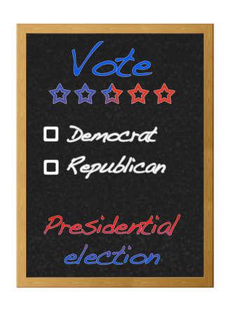 Presidential election 2012. Stock Photo - 12214966