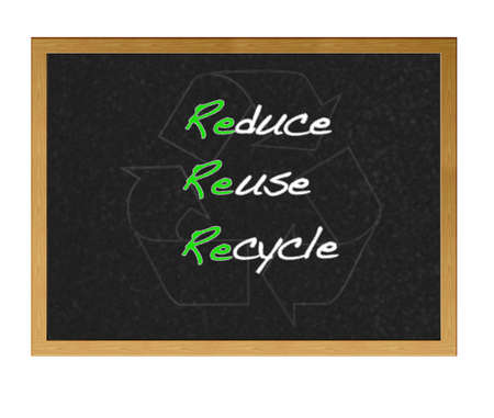 Reduce, Reuse, Recycle. photo