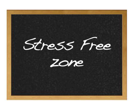 Stress free zone.