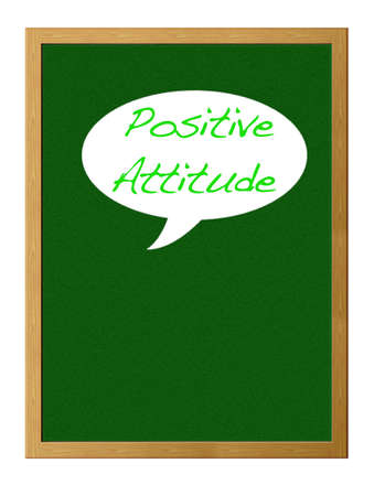 actitud positiva: Actitud positiva. Foto de archivo