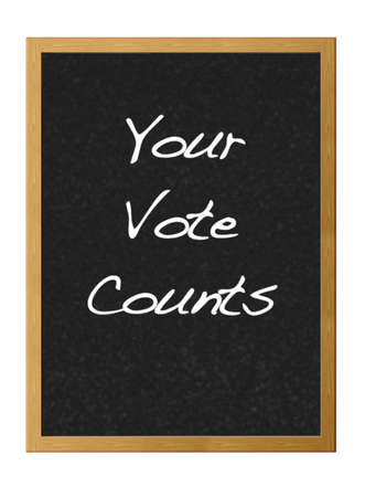 Your vote counts. photo