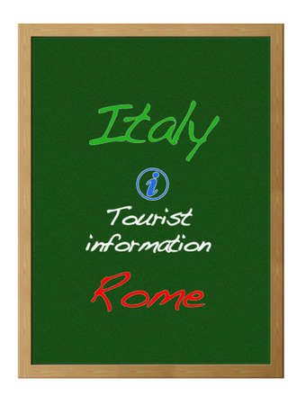tourist information: Tourist information, Italy.
