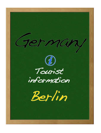 Tourist information, Germany. Stock Photo - 12215170