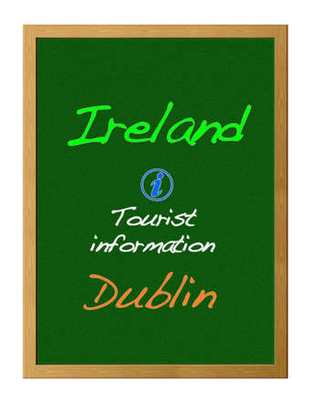 Tourist information, Ireland. photo