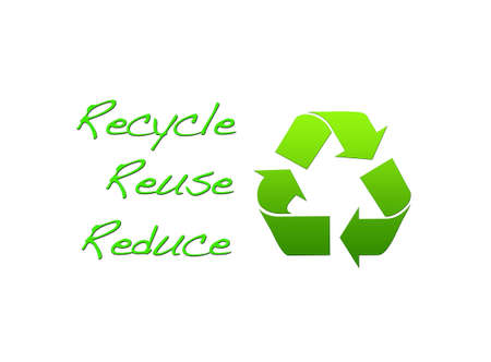 Recycle, reuse, reduce. Stock Photo - 12215208