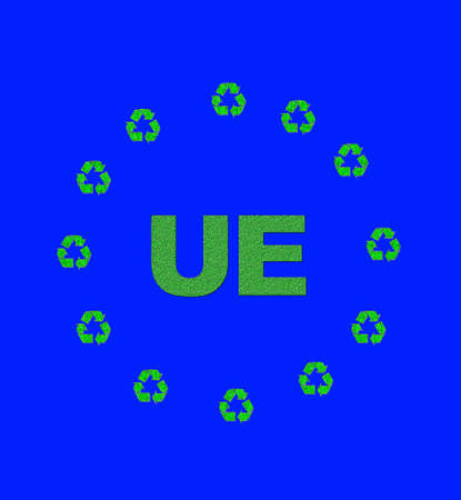 Recycling Europe. Stock Photo - 12215210