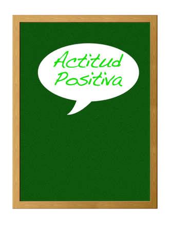 positive attitude: Positive attitude. Stock Photo