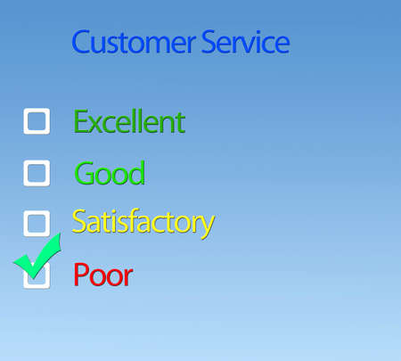 Customer service. photo