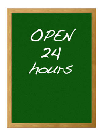 Open 24 hours. photo