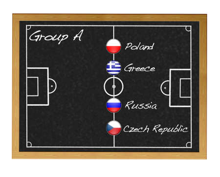 Group A 2012 European. photo