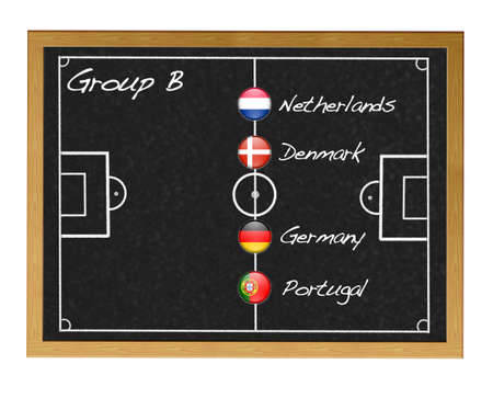 Group B 2012 European. photo