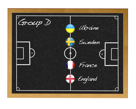 Group D 2012 European. photo