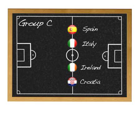 Group C 2012 European. photo