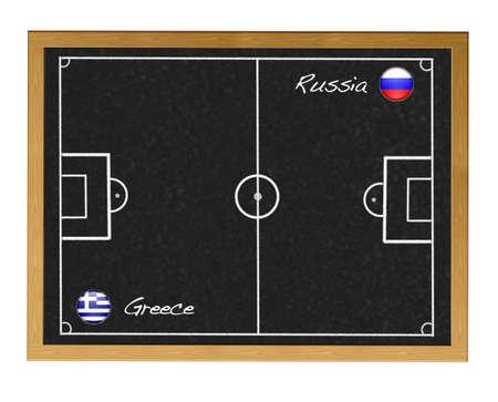 Soccer 2012 European. Stock Photo - 12554870