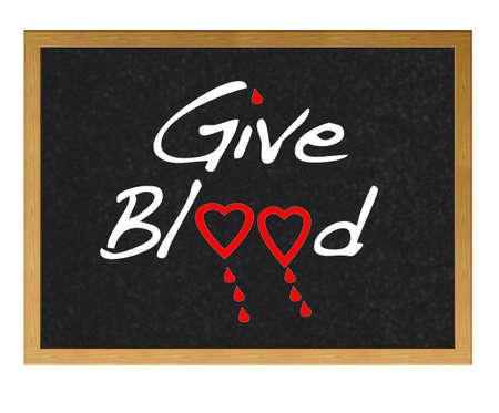 Illustration on give blood. illustration