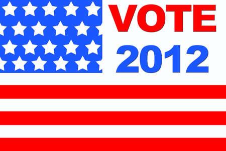 Vote USA 2012. photo