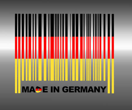 Barcode Germany. photo
