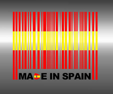 made in spain: Barcode Spain.