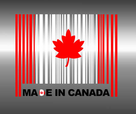 Barcode Canada. photo
