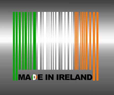 Barcode Ireland. Stock Photo - 13194801