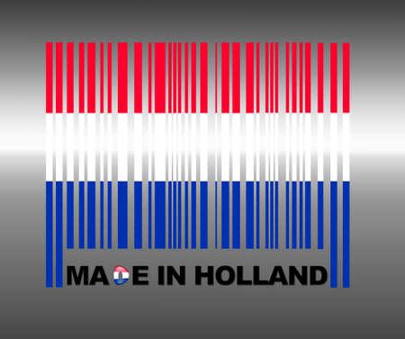 Barcode Olanda. Archivio Fotografico