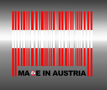 Barcode Austria. photo