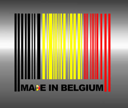Barcode Belgium. photo