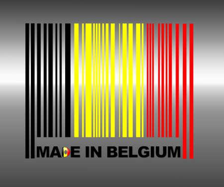 belgium: Barcode Belgium.