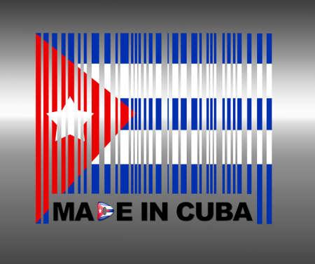 Barcode Cuba. Banco de Imagens